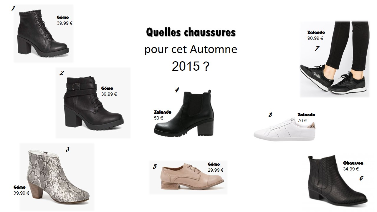 chaussures a w 2015