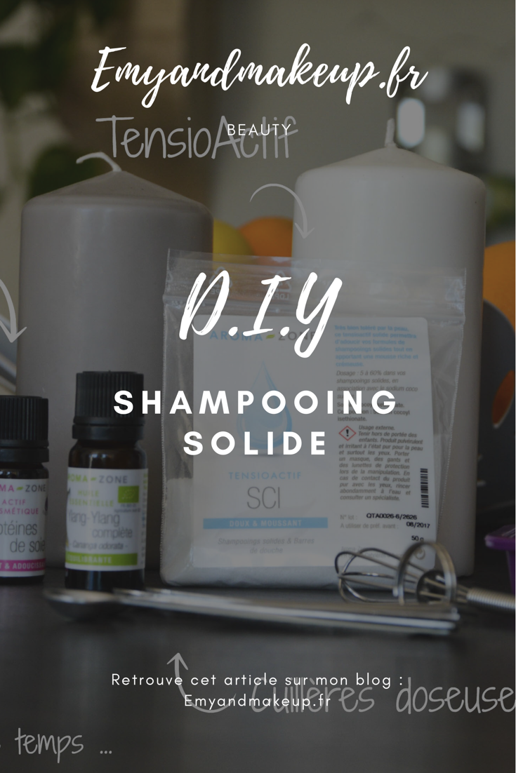 DIY shampooing solide