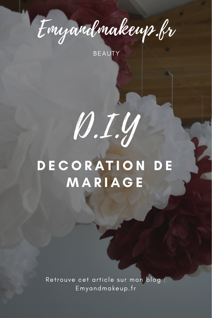 DIY décoration mariage