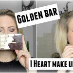 Tuto avec la palette Golden Bar de I Heart Make Up