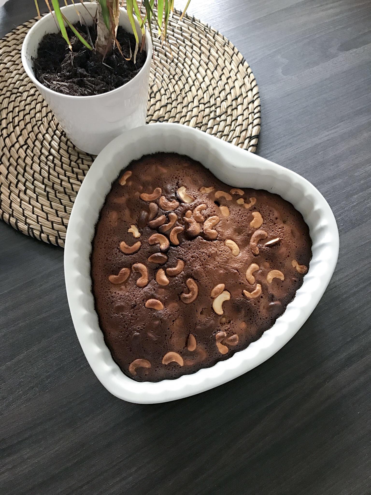 brownie praliné sans gluten