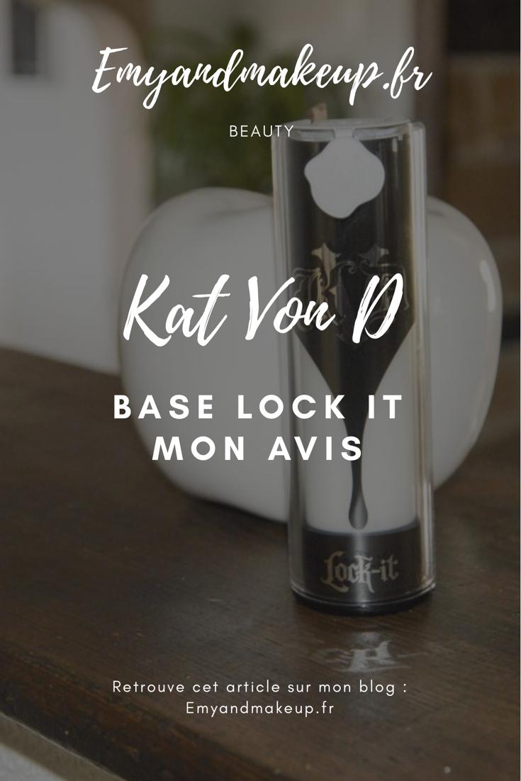 base Lock It Kat Von D