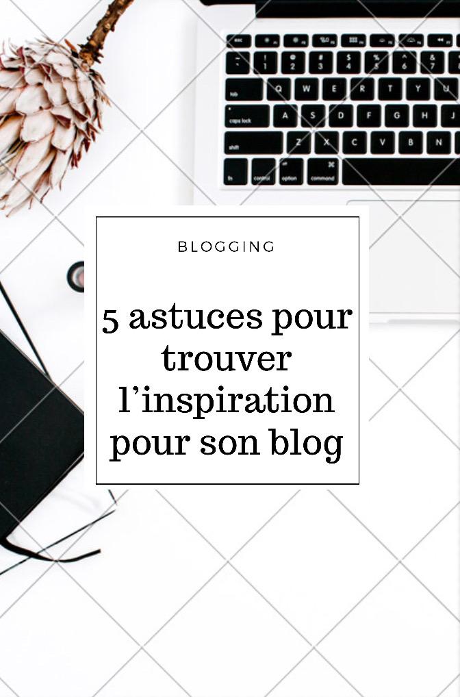 inspiration pour son blog
